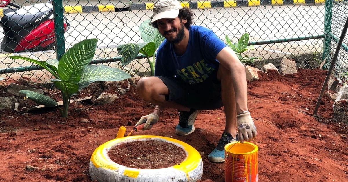 Bengaluru Engineer Fixes Potholes, Transforms Garbage Dump into Dog Park After Work!