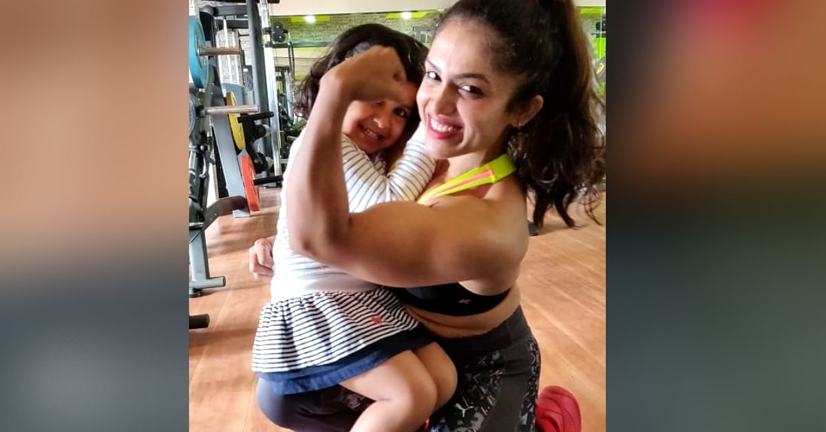Owning Stretch Marks: B'Luru's Muscle Mom Smashes Stigma, Inspires Women to Embrace Themselves!
