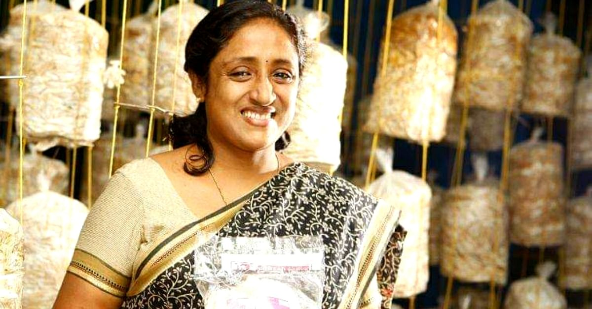 Kerala Homemaker's Love for Mushrooms Is Helping Her Earn Rs 1 Lakh/Month!