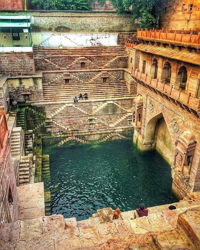 A magnificent stepwell in Jodhpur . (Source: Facebook/ Pratap Singh)