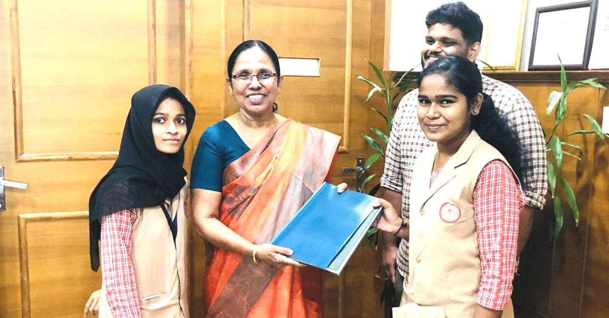 Kerala Teacher Uses World's Worst Aquatic Weed to Make Low-Cost Sanitary Napkins!