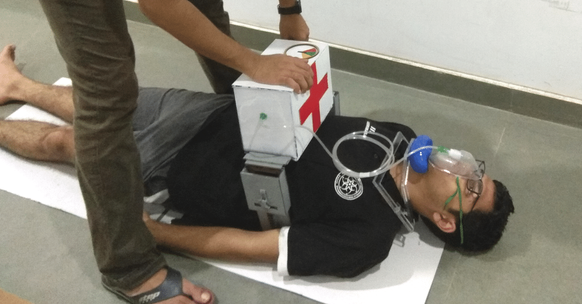 IIT Gandhinagar Students Build Low-Cost Portable CPR That Can Save Thousands of Lives!