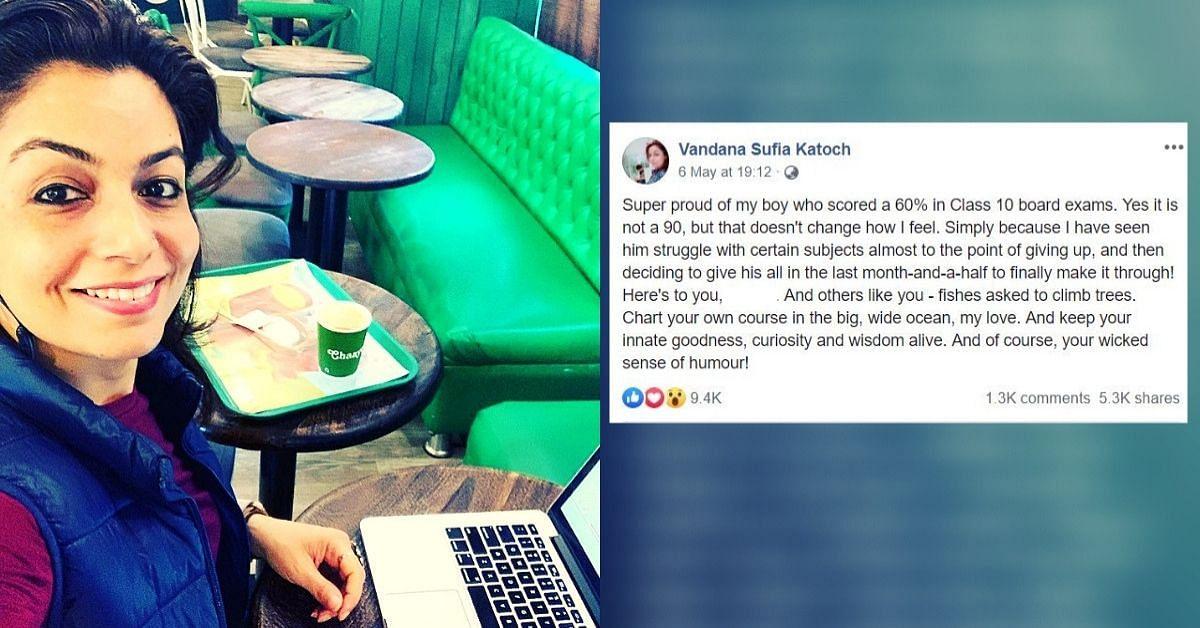 3200b5b14 Proud of My Boy Who Scored 60%': Delhi Mom's Viral Post Wins Hearts