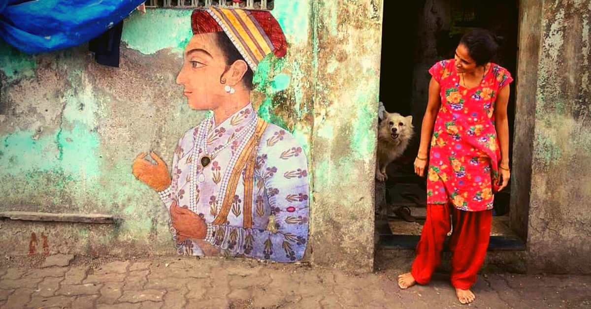 In Pics: Iconic Paintings & Mughal Miniatures Take Over Indian Streets!