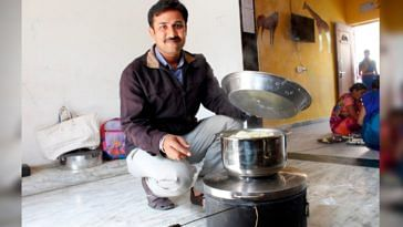 solar stove innovation gujarat unesar