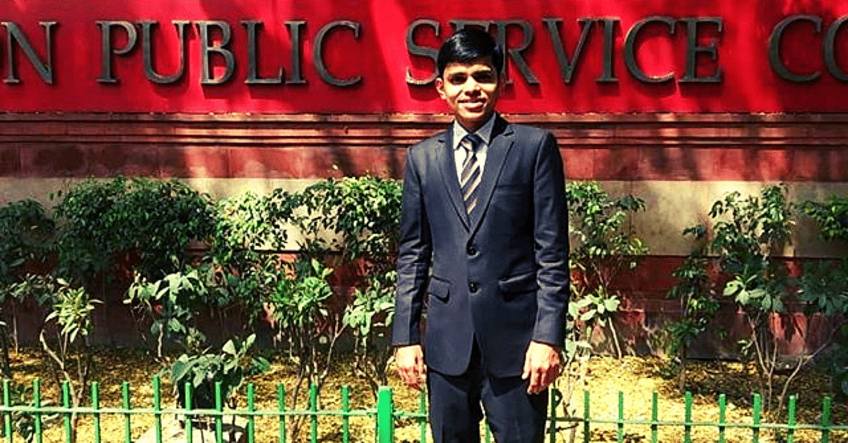 22-YO Son of Petrol Pump Worker Beat All Odds To Crack UPSC in 1st Attempt!