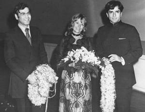Shashi Kapoor, Jennifer Kendal and Ismail Merchant. (Source: Facebook/Bollywood Talkies)
