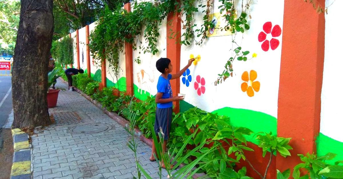 80 Chennai Families Create Sustainable Street, Win Green Award by TN Govt!