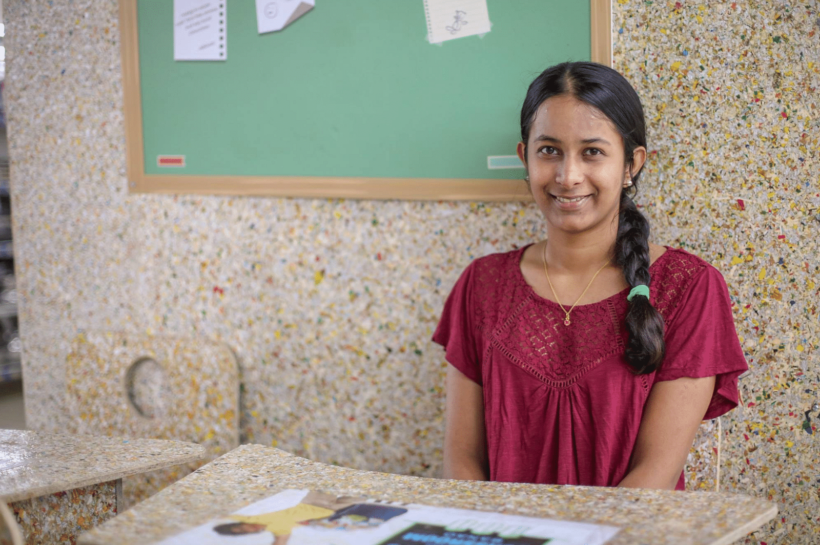 Mumbai Girl Helps Society Recycle 80% Waste, Upcycles Cardboard into Stationery!