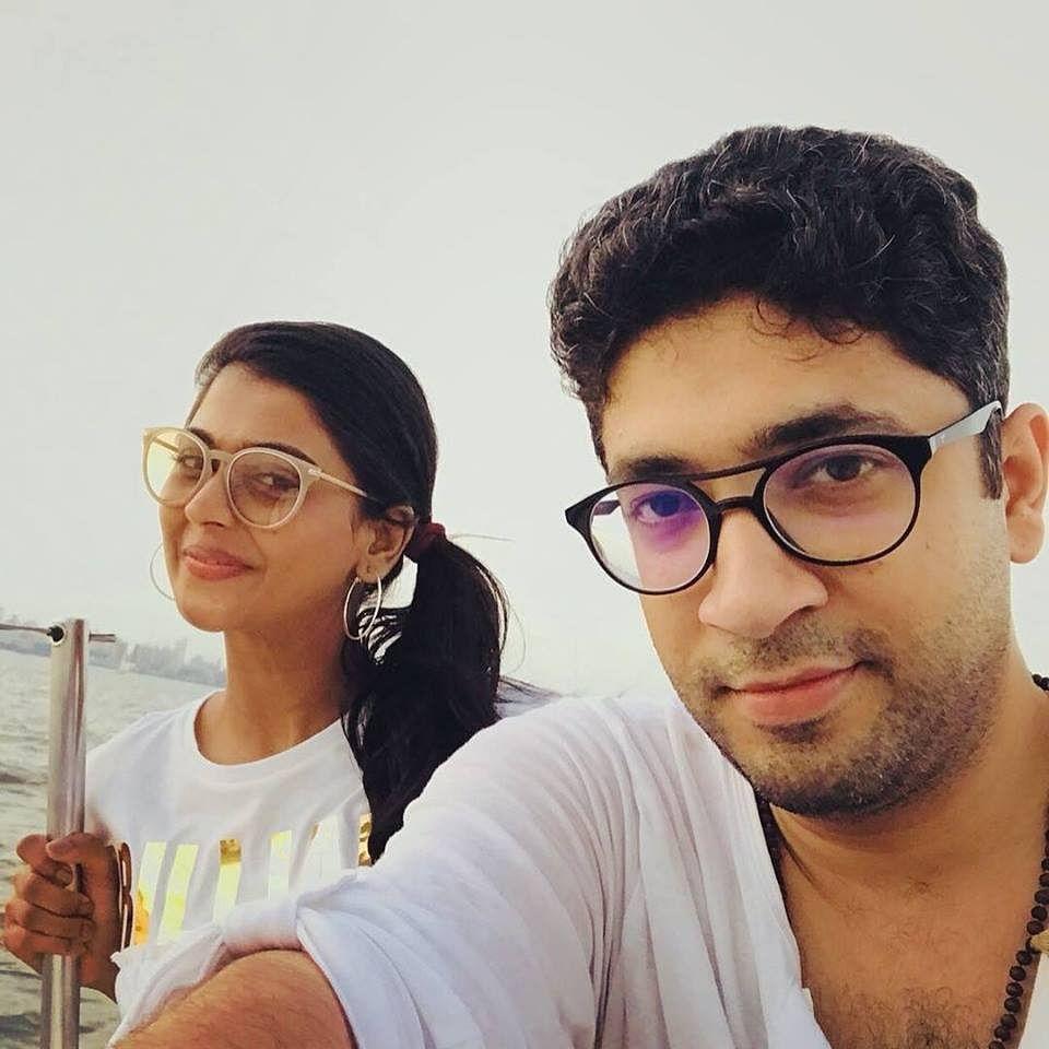 Sanchi and Amit. (Source: Facebook/Amit Motwani)