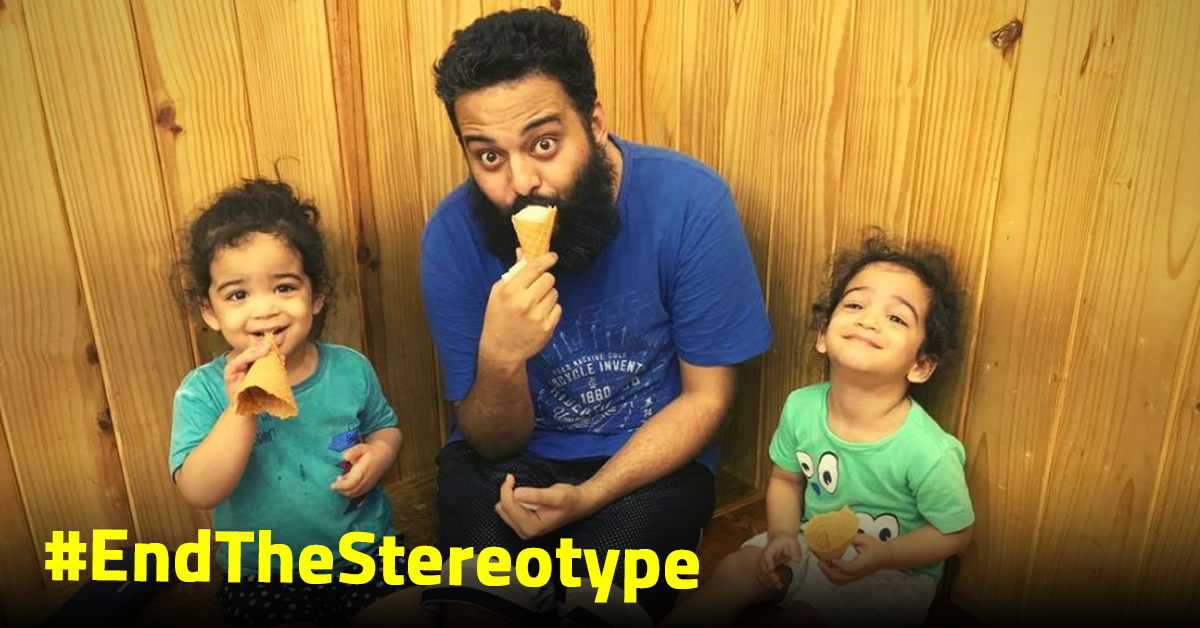 This Stay-At-Home Mumbai Father is Challenging Gender Roles For Good!