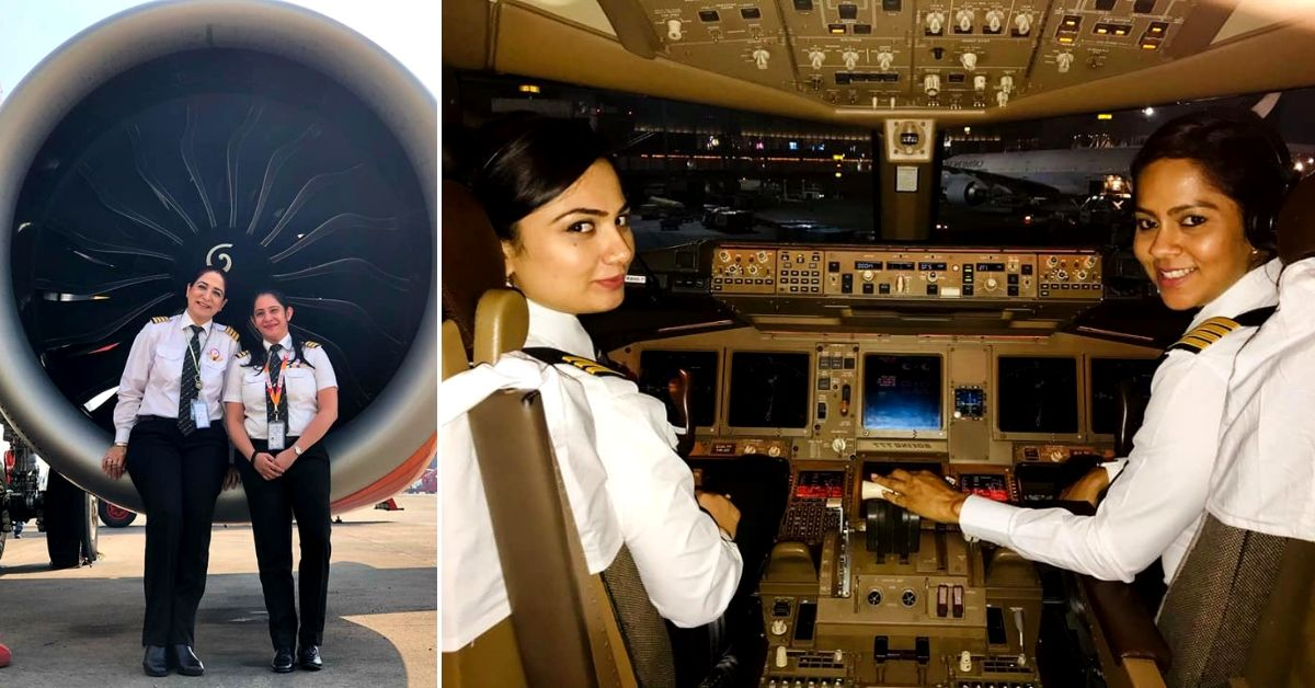 Women In The Sky: 4 Reasons Why India is a Trailblazer For Gender Equality in Aviation