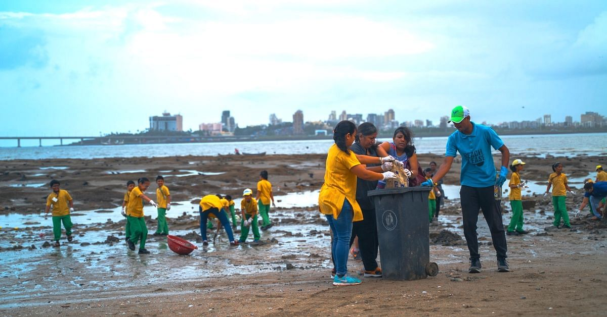 How 5000 Citizens Came Together to Clean up Nearly 20 Tonnes of Mumbai's Trash