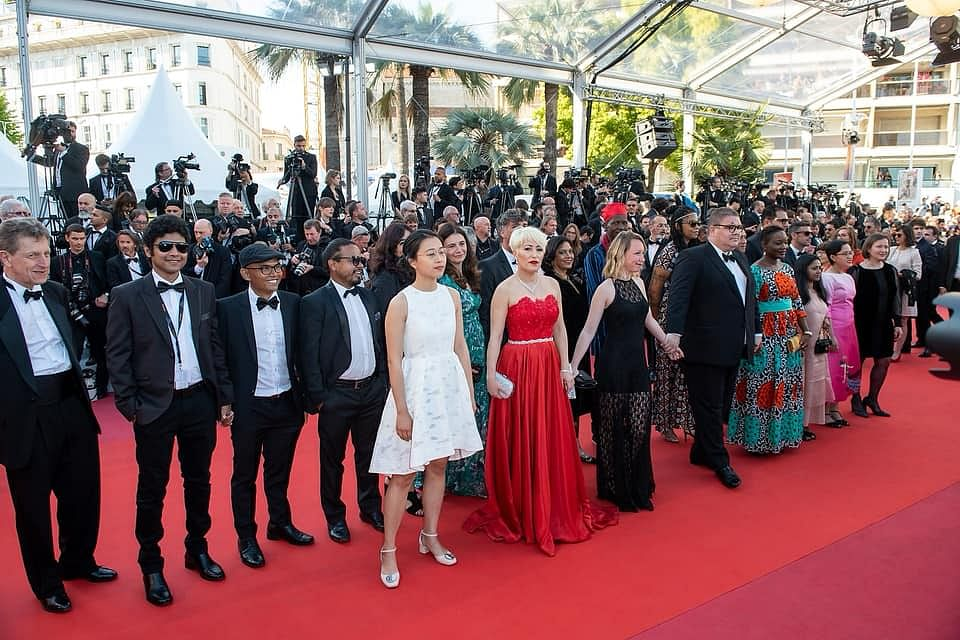 When at Cannes...