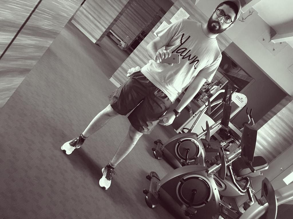 Working out. Recovery. (Source: Amit Motwani)