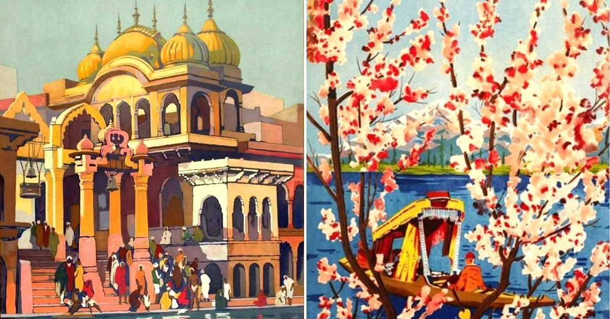 Want to Visit India of The 20s & 30s? Travel In Time Via These Awesome Posters!