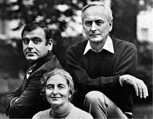 Ismail Merchant (L), James Ivory (R), and Ruth Jhabvala (C). (Source: Facebook/Merchant Ivory Productions)