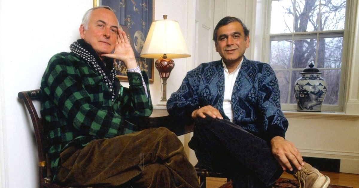 James Ivory & Ismail Merchant. (Source: Twitter/Film Forum)