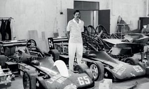 S Karivardhan understood race cars like few did in his time. (Source: Facebook/Vicky Chandhok)