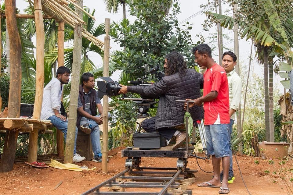 Shooting for Ma.Ama.