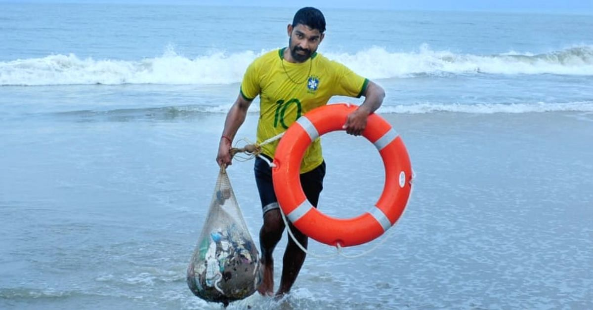 This 'Mad' Kerala Fisherman Helped Fish Out 13.5 Tonnes of Plastic From The Sea!