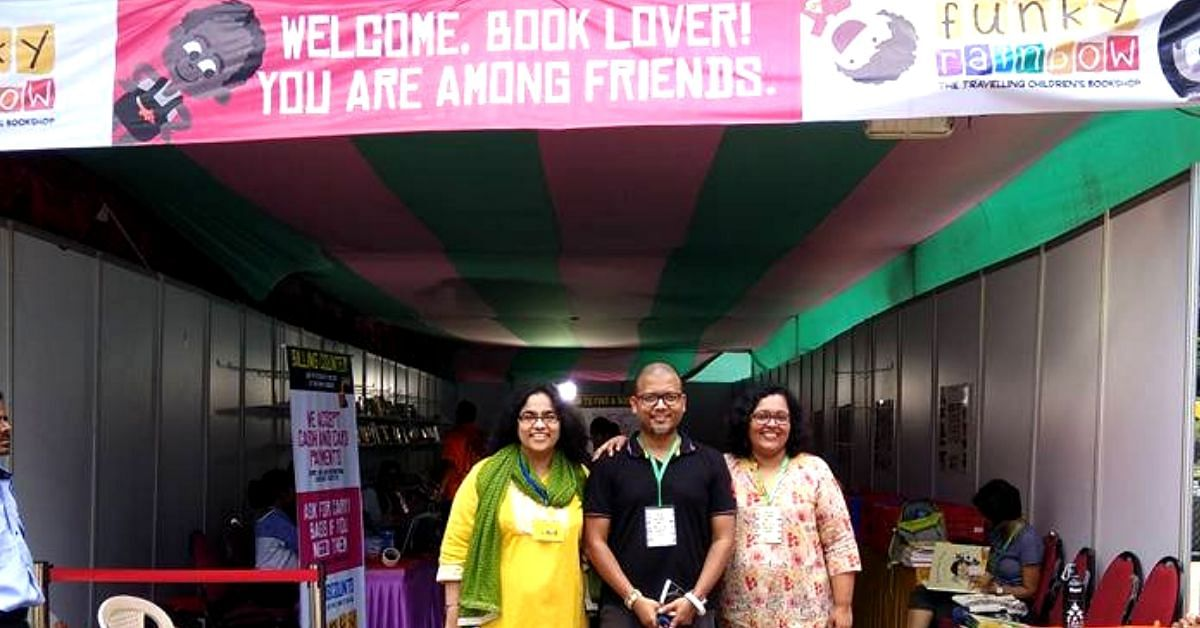 3 Bengaluru Friends Hand-Pick 6000 Books for Kids for an Important Reason!