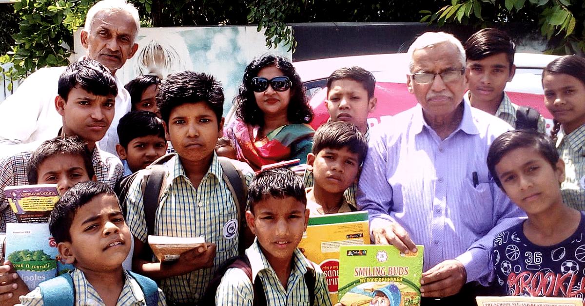 Ex-Banker from Gurugram Opens School Under Tree; Educates 700 Slum Kids in 10 Years