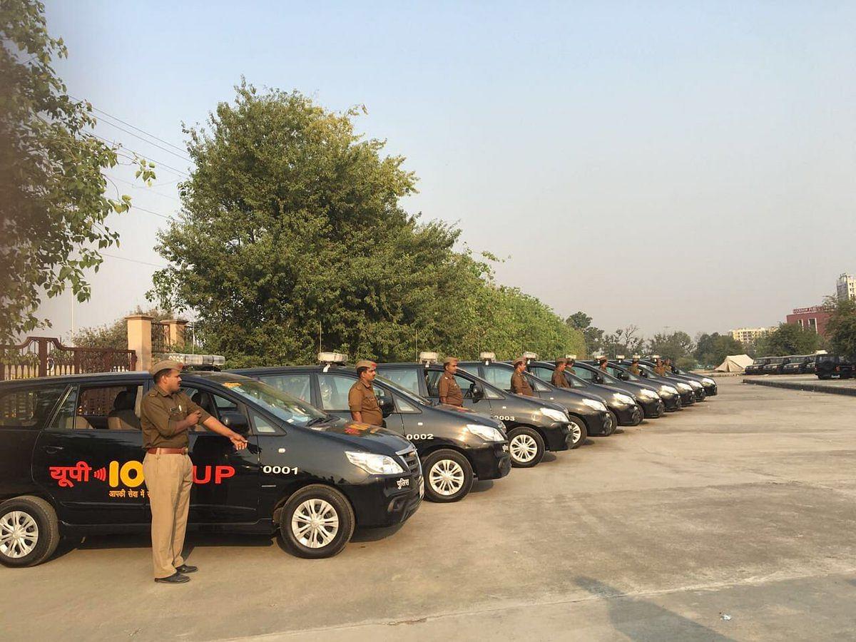 A fleet of UP-100 vehicles. (Source: Twitter)