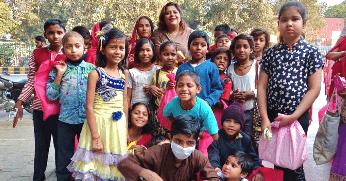 This Lady Has Single-Handedly Helped More Than 150 Terminally Ill Kids in Delhi!
