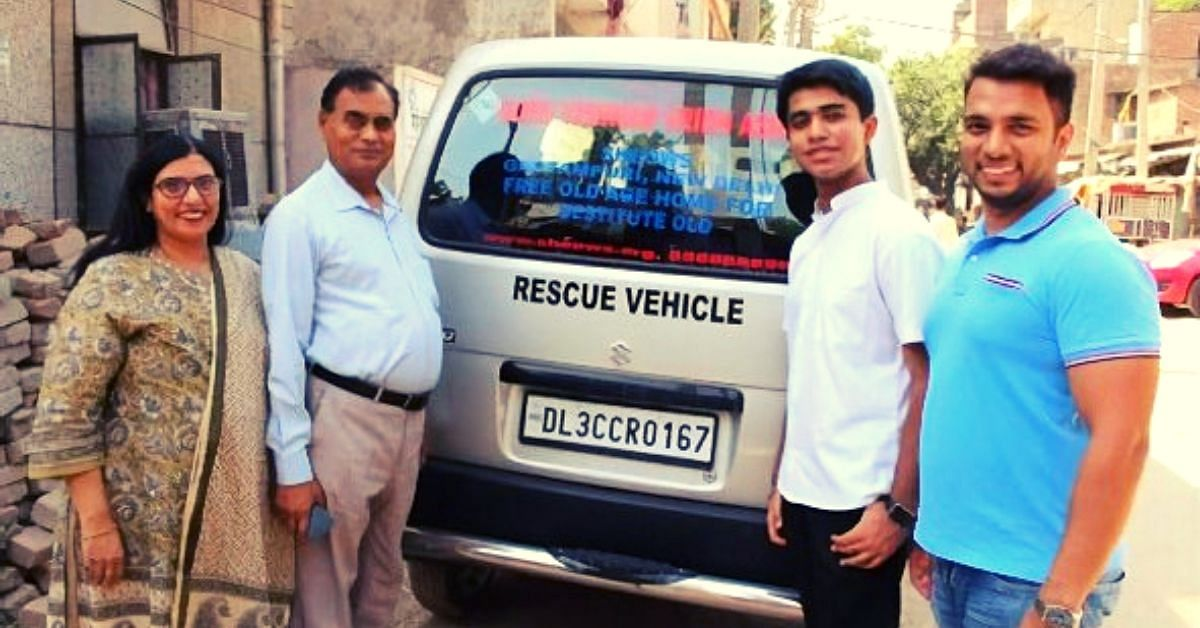 15-YO Delhi Boy Raises Rs 12.5 Lakh To Buy Ambulance for An Old Age Home!
