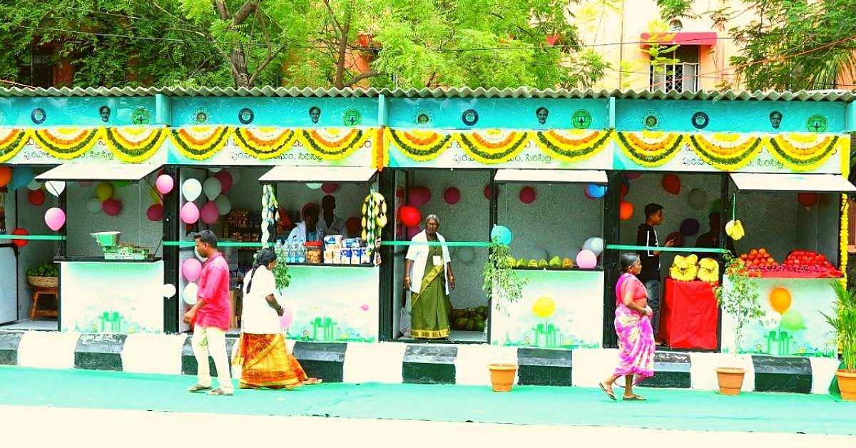 Win-Win! Telangana Street Vendors Get India's First Kiosks Made From Plastic Waste