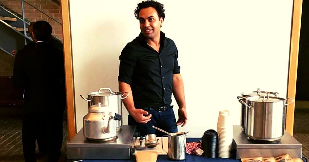 Indian Man's Tea Stall in London Is Empowering Refugees, One Chai At a Time!