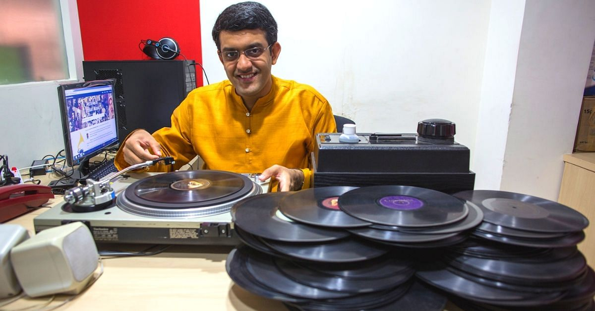 This One Man Army Is Saving India S Pre Radio Gramophone