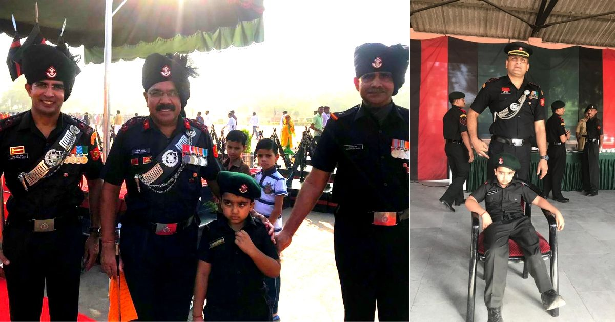 Here's The Inspiring Reason Why The Army Invited This 7-YO Amputee To Their Ranks