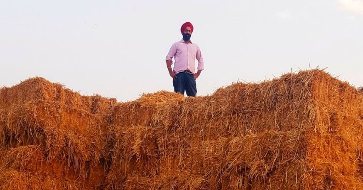 Solution to Stubble Burning: Punjab Man Uses Straw to Make Fuel, Eco-Products!