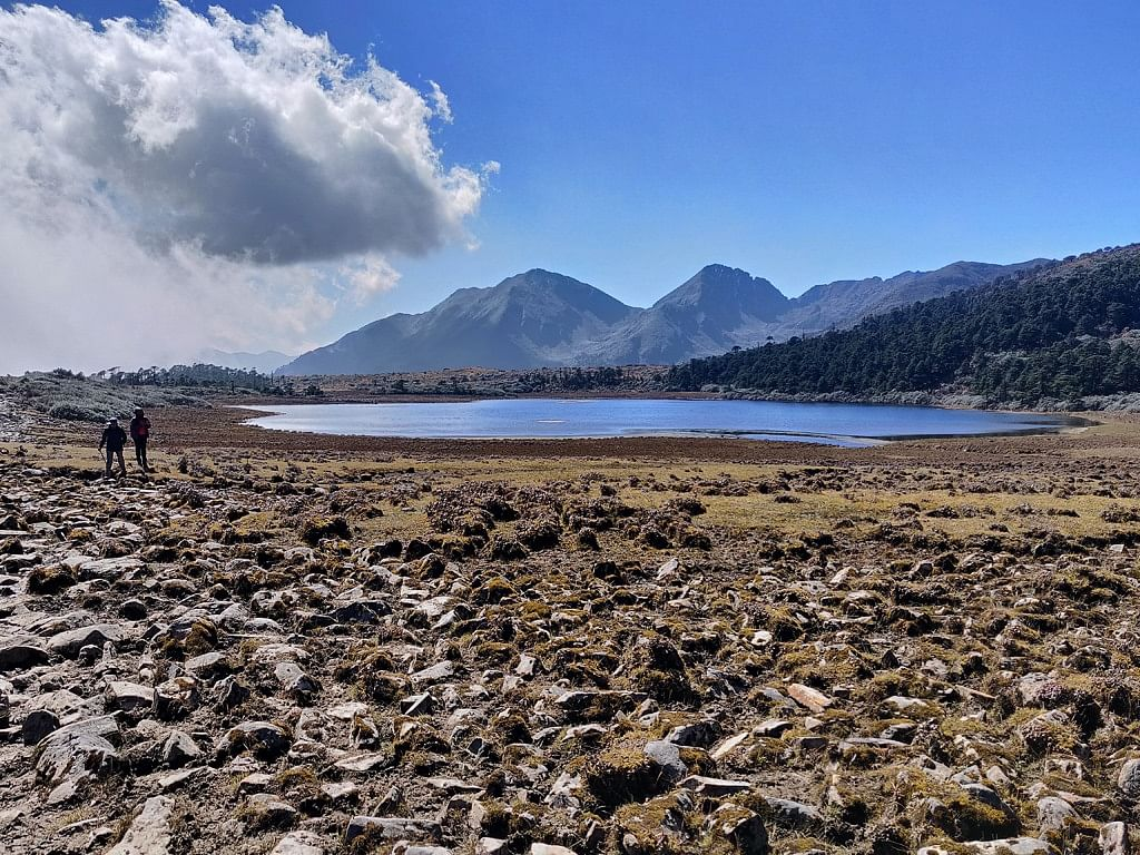 Take in all the beauty on the Bhangajyang Lakes Trek. (Source: Kipepeo)