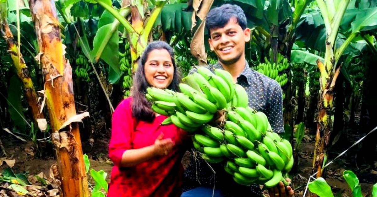 Earth Walls to Organic Food: Gujarat Couple Quits US Job to Create Food Forest!