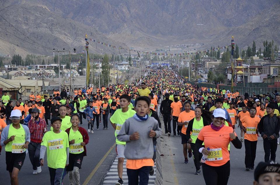 The 7km Fun Run (Source: Ladakh Marathon)