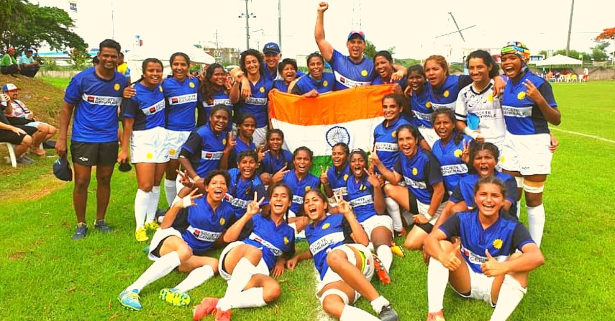 Homemakers, Working Moms, Students: These Gritty Women Won India's 1st Rugby Medal