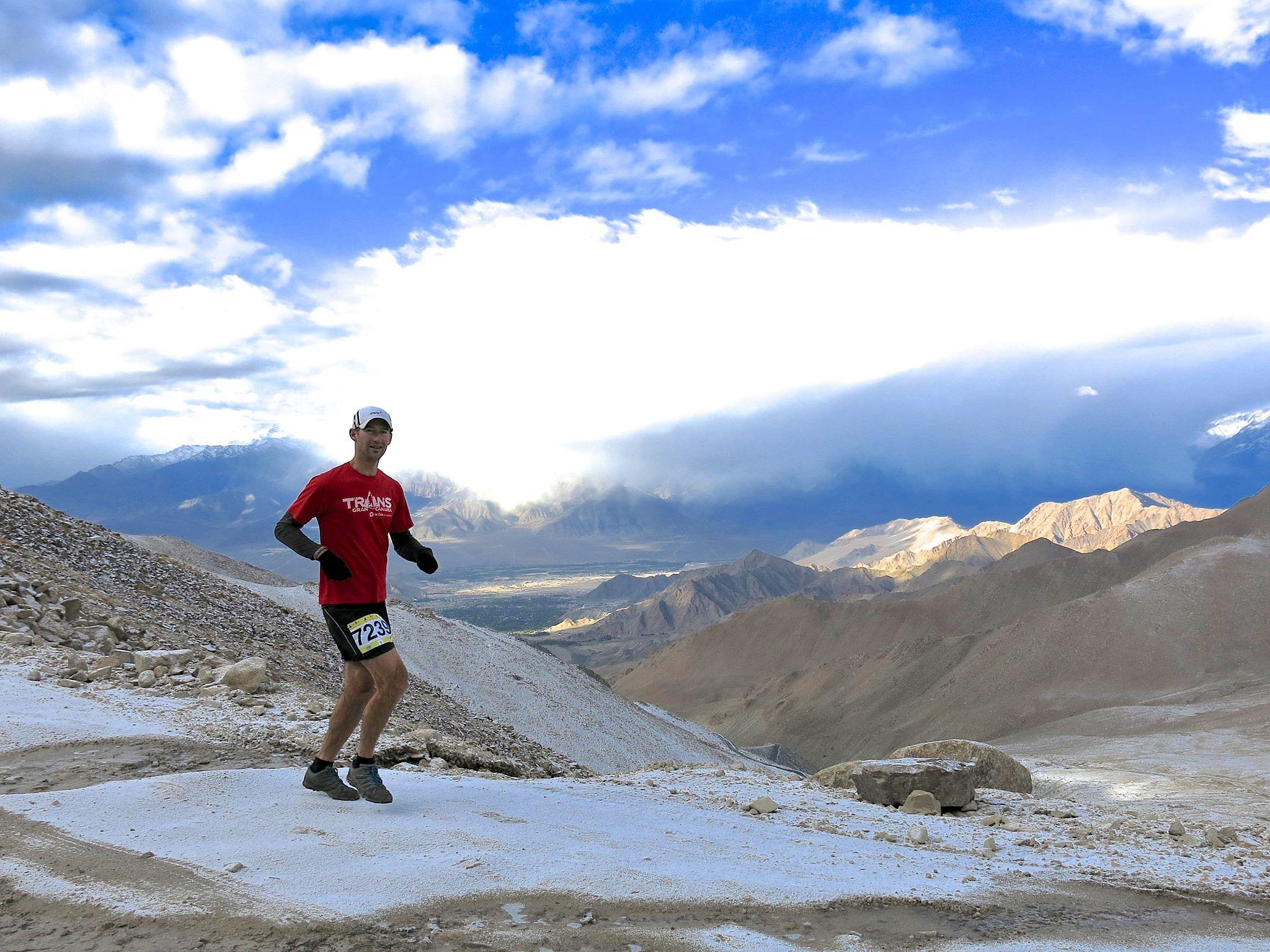 Khardung La Challenge: The ultimate test of human endurance. (Source: Facebook/Ladakh Marathon)