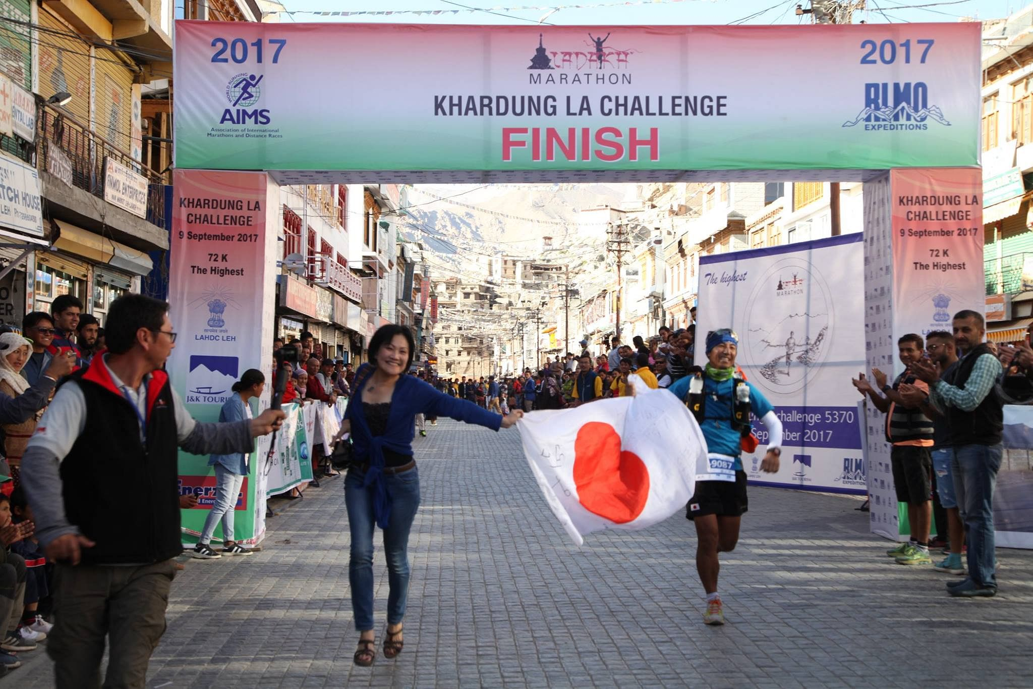 Runners from all over the world gather in Ladakh for the Marathon. (Source: Facebook/Ladakh Marathon)