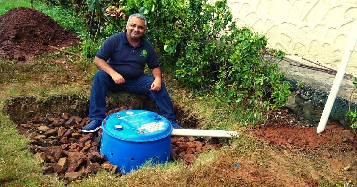 Mumbai Man is Setting Up Rainwater Harvesting Systems in Schools!