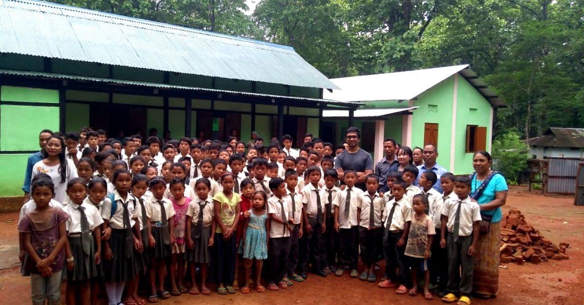 Meghalaya IFS Raises Rs 2.8L to Repair School, Ensures 200 Kids Don't Drop Out!