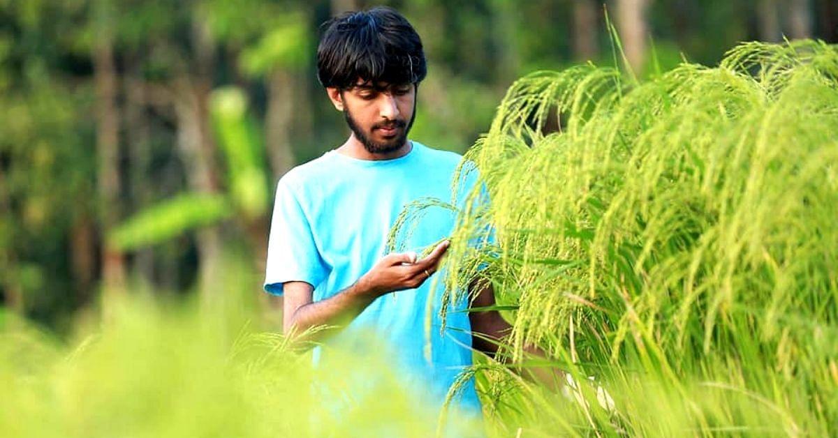 Taking Up Organic Farming at 13, Kerala Student Now Grows 50+ Fruits & Veggies!