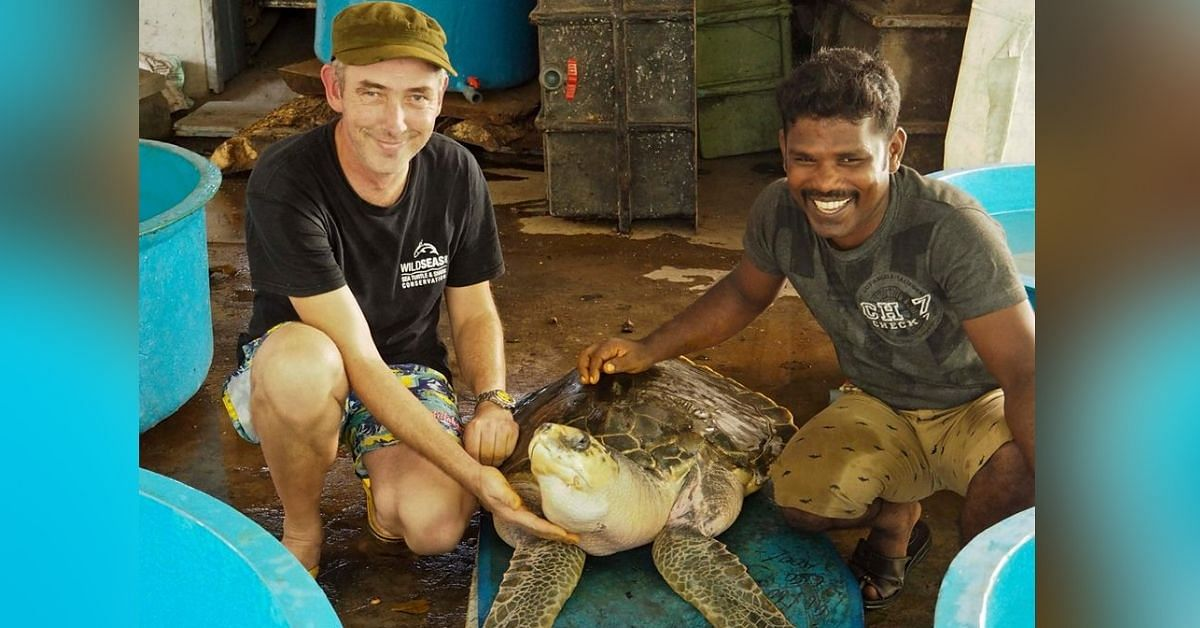 For 17 Years, This Chennai Fisherman Has Rescued Hundreds of Turtles from Trawlers!