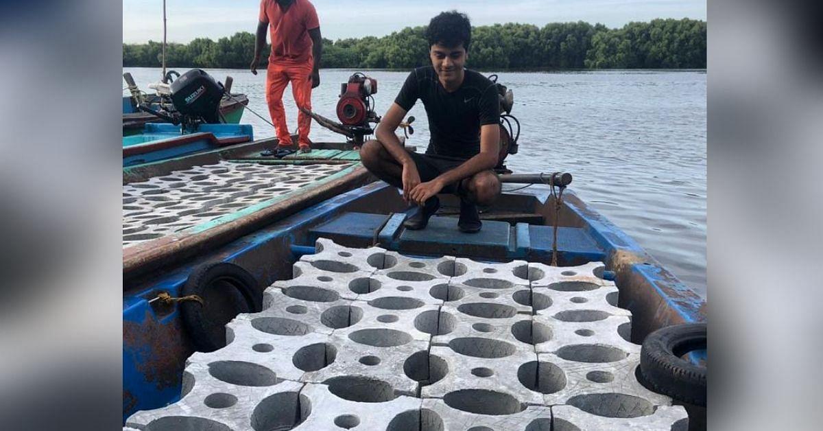 17-YO Mumbai Boy Creates India's 1st 3D Printed Reef to Replace Crumbling Corals
