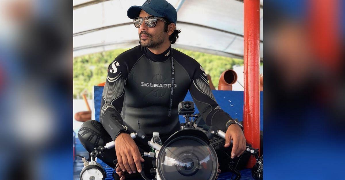 8,000 Dives, a Swimming Jumbo & Sharks: Meet India's 1st Underwater Photographer