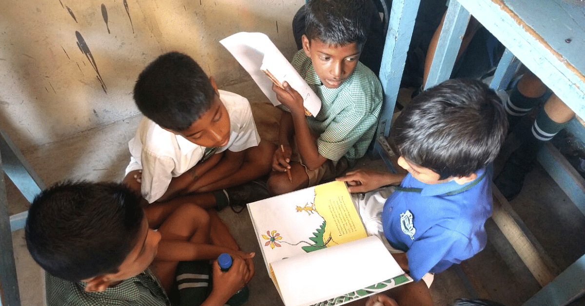 How 4 Delhi Friends Are Taking Donated Books to 4 Lakh Young Readers!