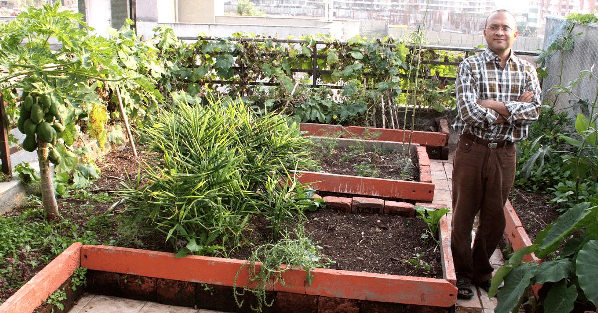 When Neighbours Were Against His Garden, Pune Man Won Them Over With Garlic!