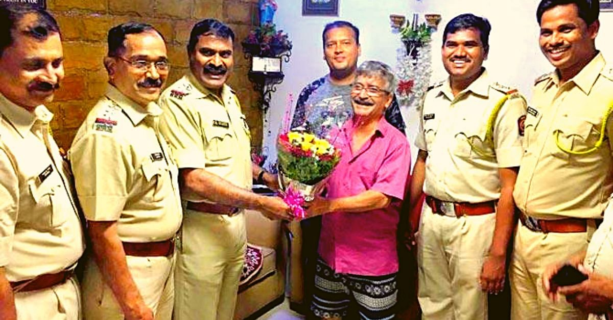 Mumbai Police Celebrates B'Day of the Father of Boy Who Died Saving Women